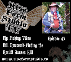 Fly Fishing Video-Bill Newcomb and the Roeliff Jansen Kill