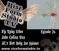 Fly Tying Video JCS Biot Iso Spinner