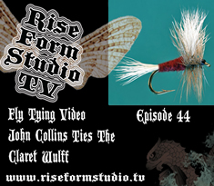 Fly Tying Video John Collins Ties The Claret Wulff