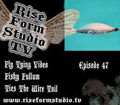 Fly Tying Video - Jay Fishy Fullum Ties the Wire Tail