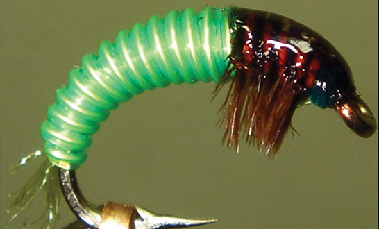 JC's Electric Caddis Larvae